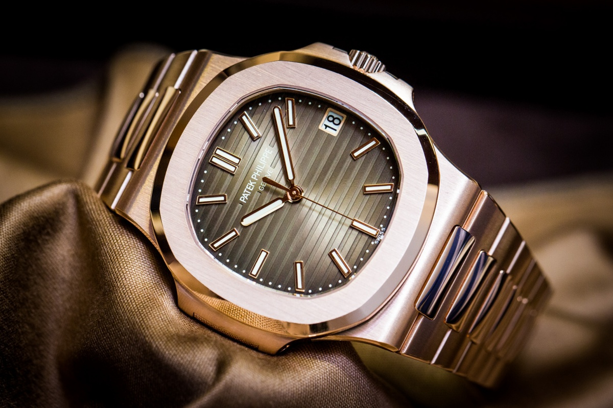 Patek Philippe Nautilus 5711 1R 001 Rose Gold Watch Baselworld 2015