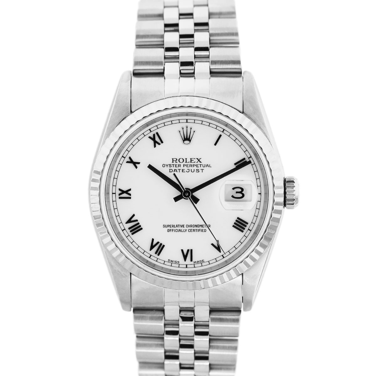 Rolex Oyster Perpetual Datejust 16234 Stainless Steel Watch