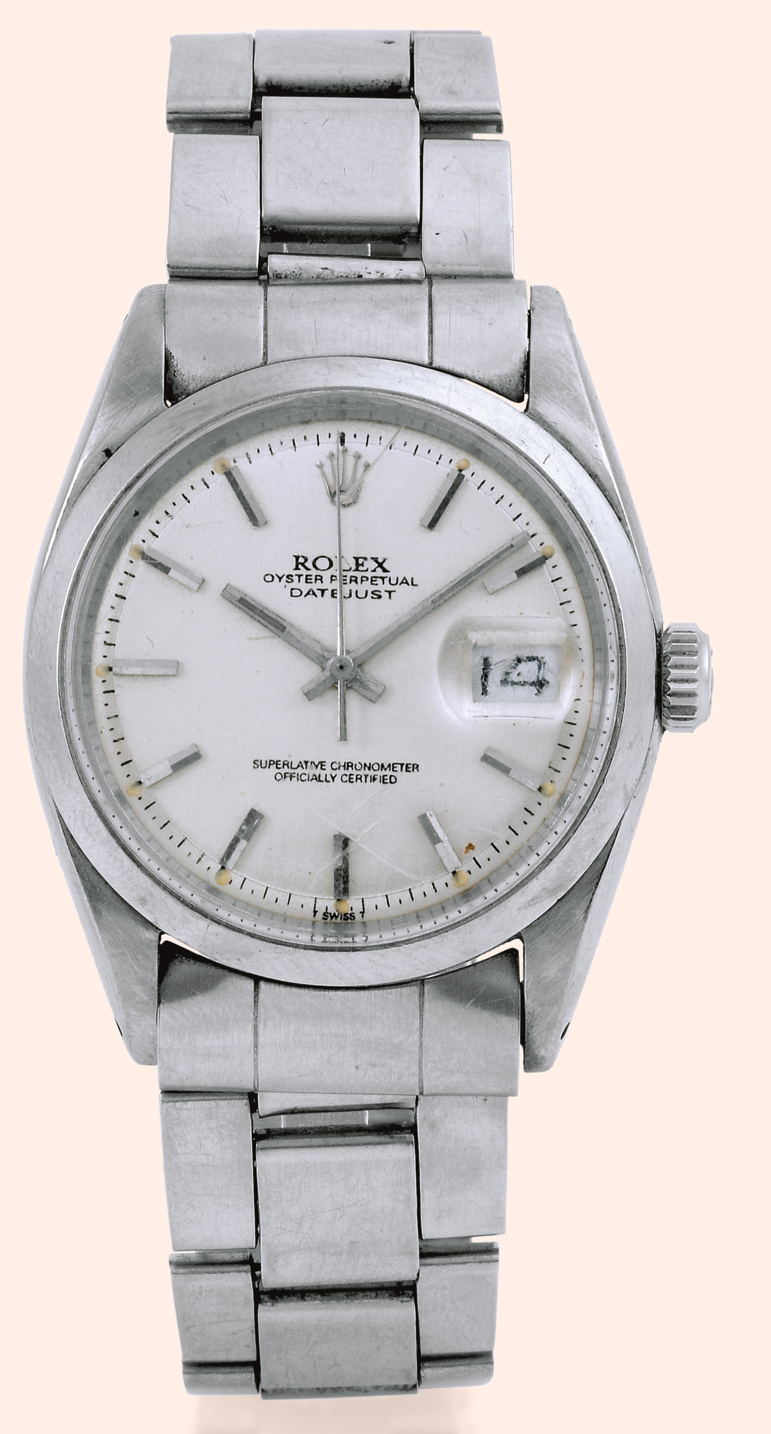 """Rolex, """"Oyster Perpetual Datejust, Superlative Chronometer Officially"""