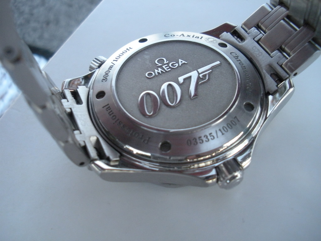 Vendo Omega Seamaster 007 Escape Co Axial ed