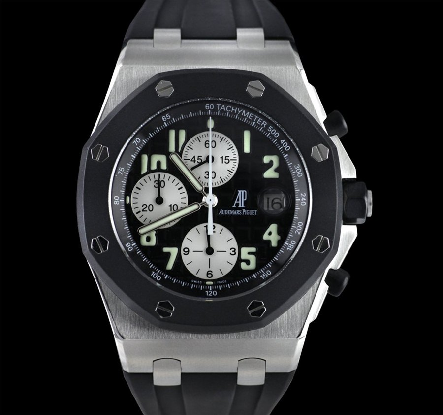 Audemars Piguet Royal Oak Offshore Chronograph Rubber Clad SS 25940SK
