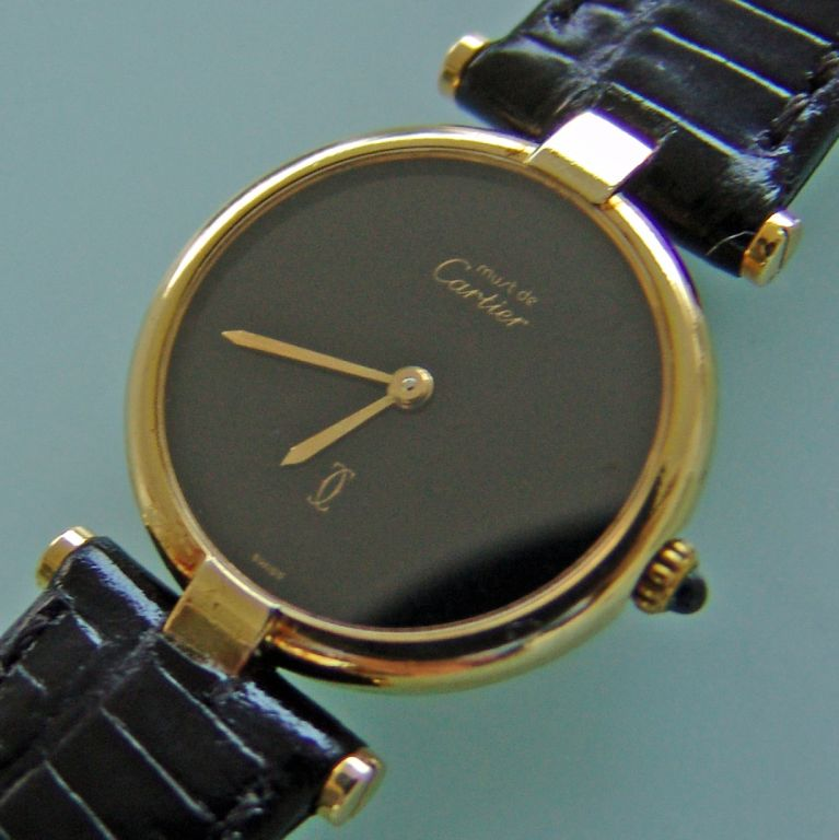 Cartier Must de Cartier Vermeil Relojes Exclusivos
