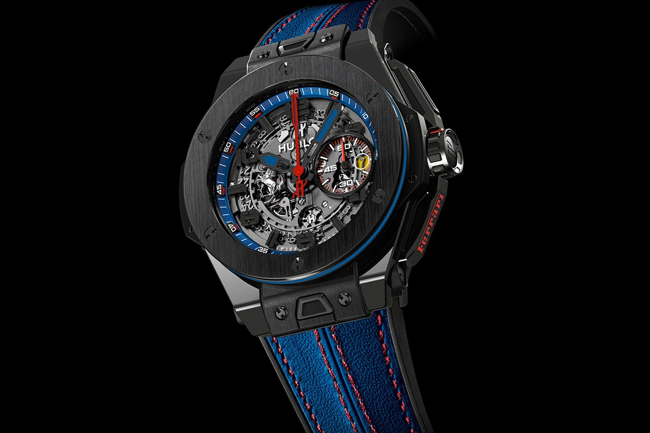 Hublot Big Bang Ferrari Beverly Hills Limited Edition HYPEBEAST