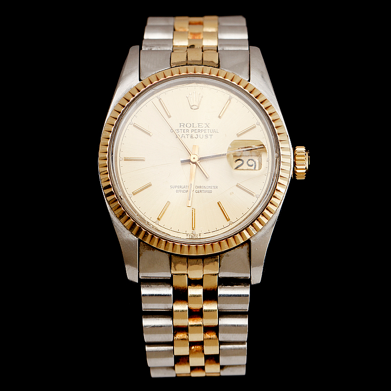 Rolex Oyster Perpetual Datejust, Superlative Chronometer, Officially